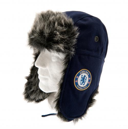 Chelsea F.C. Jersey Trapper Hat