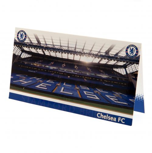 Chelsea FC Birthday Card Stadium