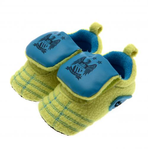 cd0ad27d0e0 Manchester City FC Baby Booties - Neon - 6/9 Months