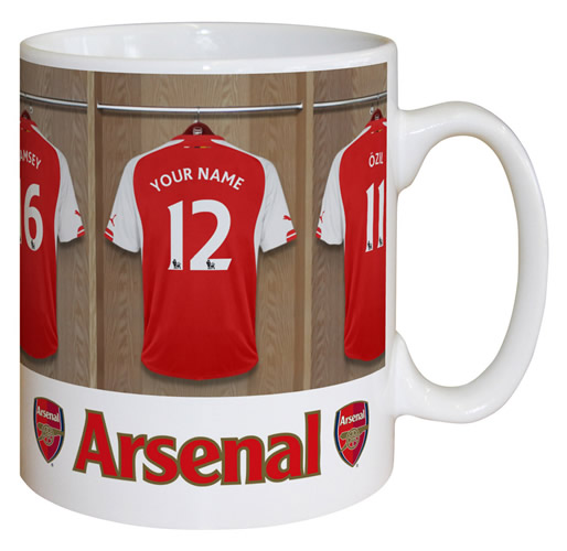 Arsenal FC Personalised Mug