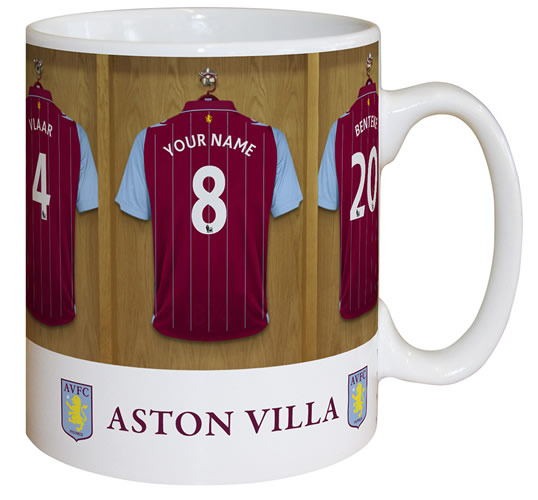 Aston Villa FC Personalised Mug