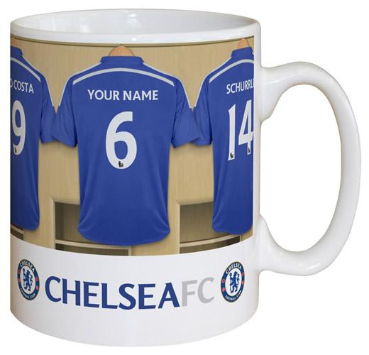 Chelsea FC Personalised Mug  d0f9d4c74
