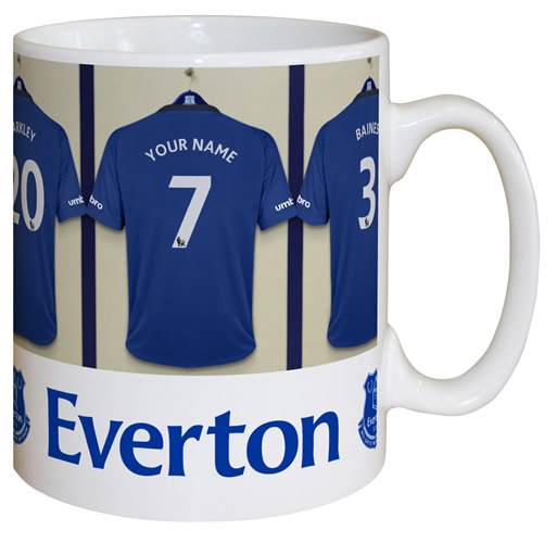 Everton FC Personalised Mug