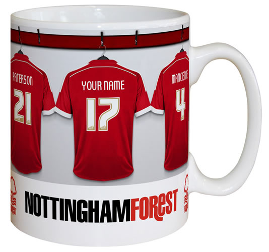 Nottingham Forest FC Personalised Mug
