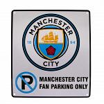 Manchester City FC No Parking Sign 2