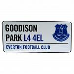 Everton FC Street Sign 2
