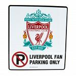 Liverpool FC No Parking Sign 3