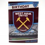 West Ham United FC Musical Birthday Card 3
