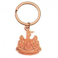 Newcastle United FC Copper Plated Keyring
