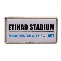 Manchester City FC Pin Badge - Street Sign