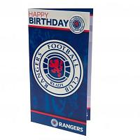Rangers FC Birthday Card & Badge