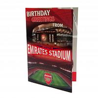 Arsenal FC Pop Up Birthday Card