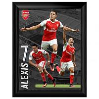Alexis Sanchez Picture - Framed - 16 x 12