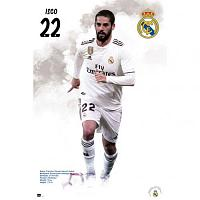 Real Madrid FC Poster Isco 59