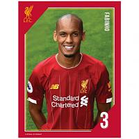 Liverpool FC Headshot Photo Fabinho