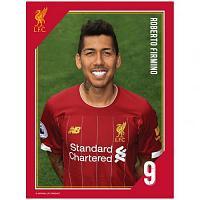 Liverpool FC Headshot Photo Firmino