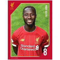 Liverpool FC Headshot Photo Keita