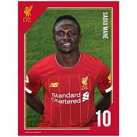 Liverpool FC Headshot Photo Mane