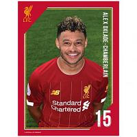 Liverpool FC Headshot Photo Oxlade-Chamberlain