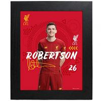 Liverpool FC Picture Robertson 10 x 8