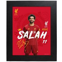 Liverpool FC Picture Salah 10 x 8