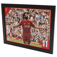 Liverpool FC Picture Salah 16 x 12