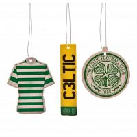 Celtic FC Air Freshener - 3 Pack