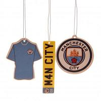 Manchester City FC Air Freshener - 3 Pack