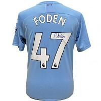 Manchester City FC Foden Signed Shirt