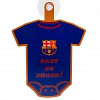 FC Barcelona Baby On Board Sign