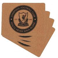 Liverpool FC 4pk Cork Placemat Set