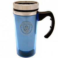 Manchester City FC Travel Mug - Aluminium