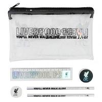 Liverpool FC Black & Silver Stationery Set