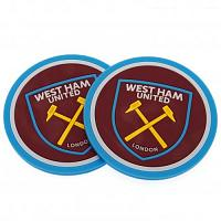 West Ham United FC 2pk Coaster Set