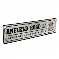 Liverpool FC Window Sign Retro