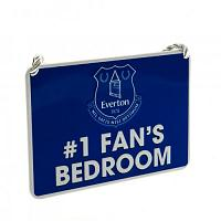 Everton FC Bedroom Sign - No1 Fan