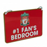 Liverpool FC Bedroom Sign - No1 Fan