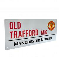 Manchester United FC Street Sign