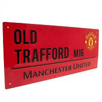 Manchester United FC Street Sign RD