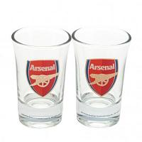 Arsenal FC Shot Glass Set - 2 Pack