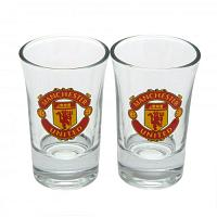 Manchester United FC Shot Glass Set - 2 Pack