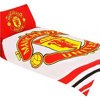 Manchester United FC Duvet Cover Bedding Set - Single