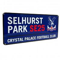 Crystal Palace FC Street Sign BL