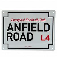 Liverpool FC Anfield Road Sign