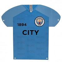 Manchester City FC Metal Shirt Sign