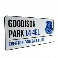 Everton FC Street Sign