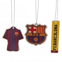 FC Barcelona Air Freshener - 3 Pack