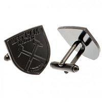 West Ham United FC Black IP Cufflinks