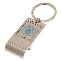 Manchester City FC Executive Bottle Opener Keyring