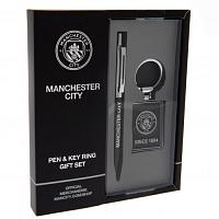 Manchester City FC Pen & Keyring Set